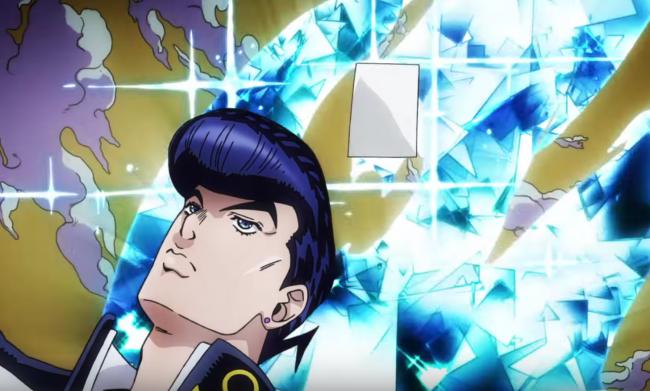 クレイジーダイアモンドをしまう時ダイアモンドになる!芸が細かい!