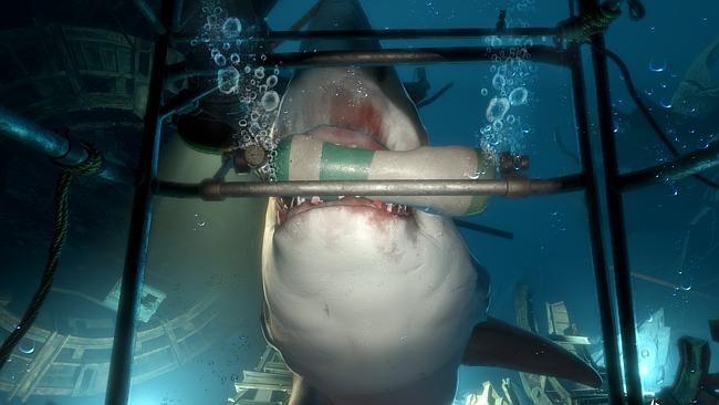サメ、怖すぎ!これがVRで超絶肉薄リアリティをもって襲いかかる…。