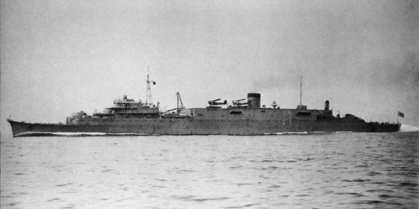 Japanese_submarine_depot_ship_Tsurugizaki_in_1939