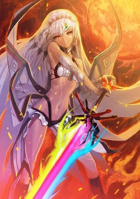 画像出典:http://fate-go.gamerch.com/【Saber】アルテラ