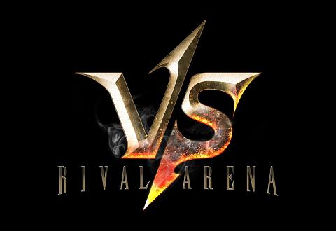 新作ゲーム『RIVAL ARENA VS』ロゴ