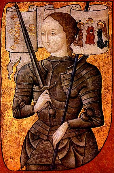 画像出典:https://ja.wikipedia.org/wiki/ジャンヌ・ダルク