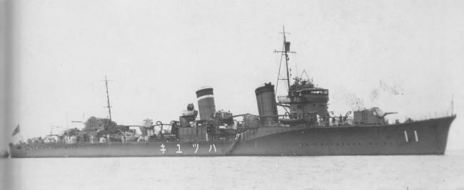 画像出典:https://ja.wikipedia.org/wiki/初雪 (吹雪型駆逐艦)