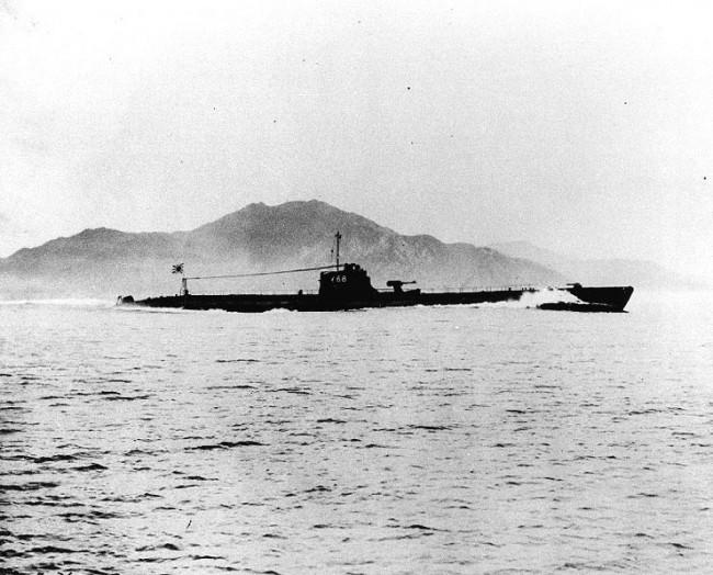 画像は伊68(後の伊168) 画像出典:https://ja.wikipedia.org/wiki/伊百六十八型潜水艦