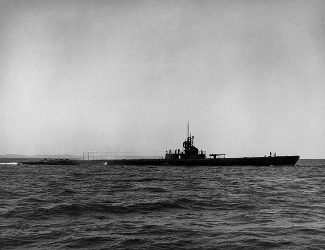 米潜水艦スキャンプ 画像出典:https://ja.wikipedia.org/wiki/スキャンプ (潜水艦)