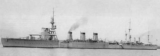 画像出典:https://ja.wikipedia.org/wiki/長良_(軽巡洋艦)