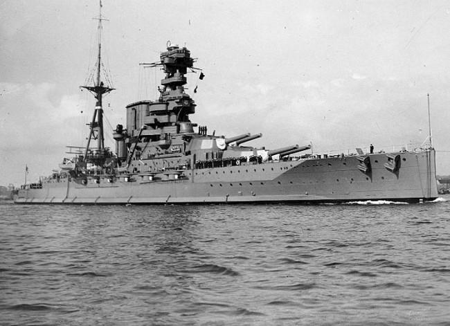 バーラム (戦艦) 画像出典:https://ja.wikipedia.org/wiki/バーラム_(戦艦)