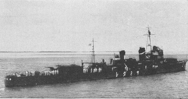 画像出典:https://ja.wikipedia.org/wiki/五月雨_(駆逐艦)