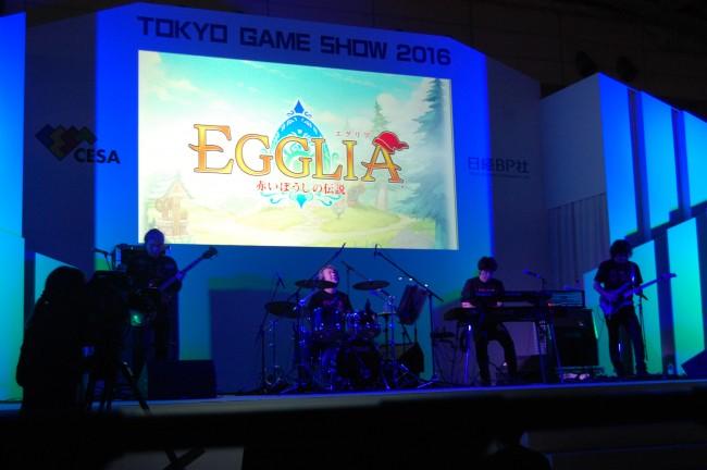 そして「エグリア」のメインテーマが、TGS2016アレンジバージョンで披露されたぞ!