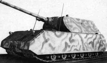 超重戦車マウス 画像出典:http://combat1.sakura.ne.jp/MAUS.htm