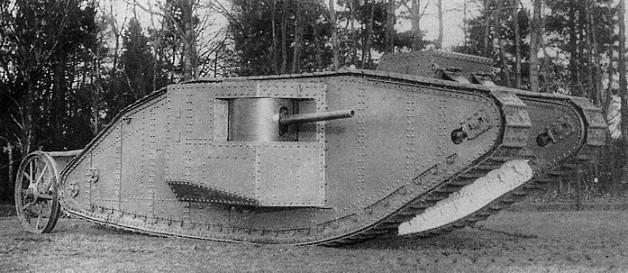 画像出典:https://ja.wikipedia.org/wiki/マーク_I_戦車