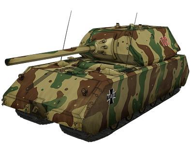 超重戦車マウス 画像出典:http://girls-und-panzer.jp/mecha_bla_mouse.html