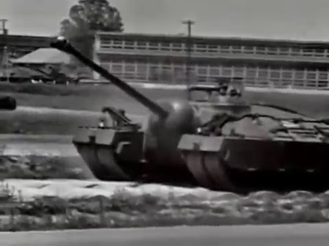 T28超重戦車 画像出典:https://www.youtube.com/watch?v=d8TNPHtw4Pc