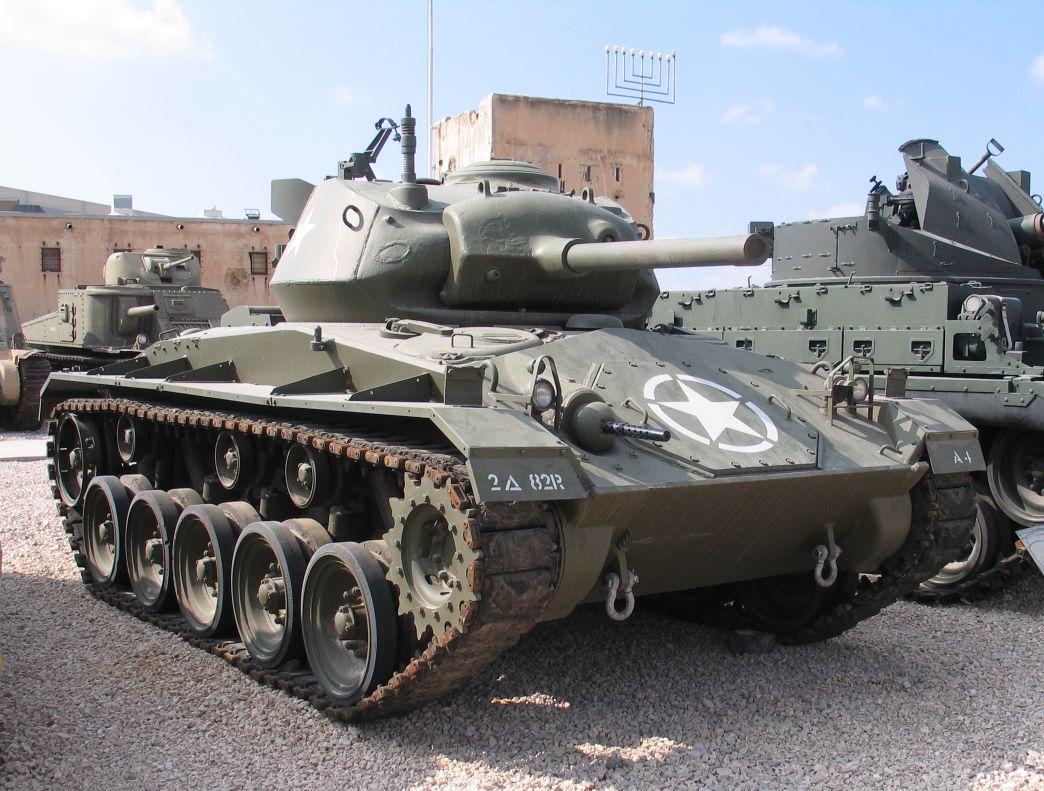 M24軽戦車 画像出典:https://ja.wikipedia.org/wiki/M24軽戦車