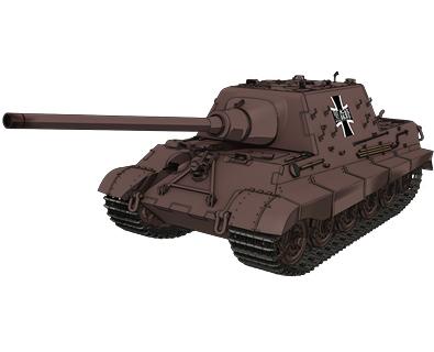駆逐戦車ヤークトティーガー(黒森峰学園) 画像出典:http://girls-und-panzer.jp/