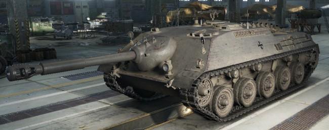 カノーネンヤークトパンツァー 画像出典:http://wikiwiki.jp/wotanks/?Kanonenjagdpanzer