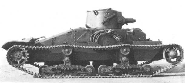 歩兵戦車Mk.I マチルダI 画像出典:http://military.sakura.ne.jp/army/uk_it-mk1.htm