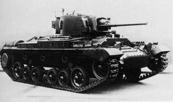 歩兵戦車Mk.III バレンタイン 画像出典:http://military.sakura.ne.jp/army/uk_it-mk3.htm