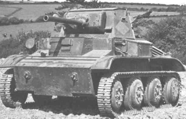 Mk.Ⅶテトラーク軽戦車 画像出典:http://military.sakura.ne.jp/army/uk_tetrarch.htm