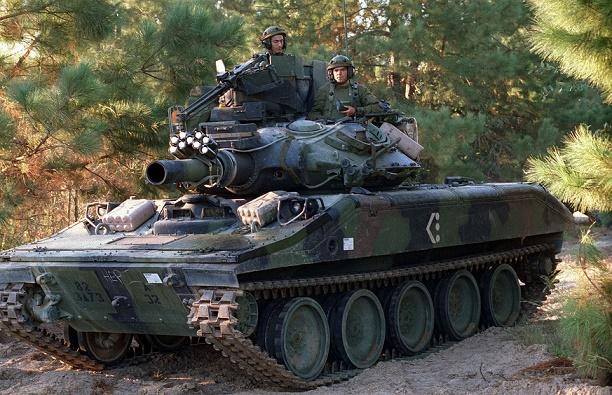 M551空挺戦車 シェリダン 画像出典:http://bx360.blog.fc2.com/blog-entry-444.html?sp