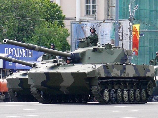 2S25スプルート-SD 画像出典:https://ja.wikipedia.org/wiki/2S25スプルート-SD_125mm対戦車自走砲