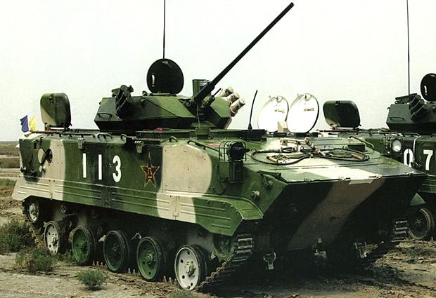 03式空挺歩兵戦闘車 画像出典:http://seesaawiki.jp/w/namacha2/d/%BF%B7%B7%BF%B6%F5%C4%F2%C0%EF%C6%AE%BC%D6%A1%CAWZ-506/ZLC-2000%A1%CB