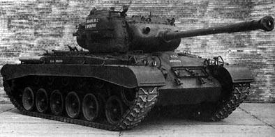 M46パットン 画像出典:http://combat1.sakura.ne.jp/M46.htm