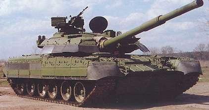 T-80主力戦車 画像出典:http://www.eurus.dti.ne.jp/~freedom3/T-80MBT.htm
