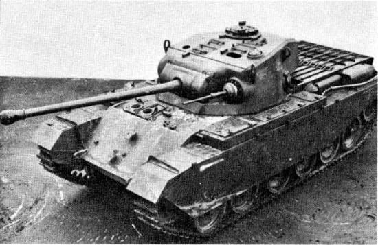 センチュリオン 画像出典:http://wikiwiki.jp/wotanks/?Centurion%20Mk.%20I
