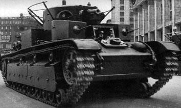 T-28中戦車 画像出典:http://combat1.sakura.ne.jp/T-28.htm