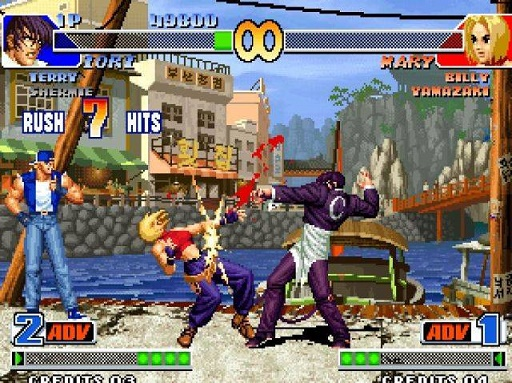 画像出典:http://gamehall.uol.com.br/v10/the-king-of-fighters-98-dream-match-never-ends/