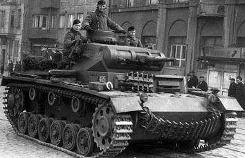 Ⅲ号戦車E型 画像出典:http://combat1.sakura.ne.jp/3GOUE.htm