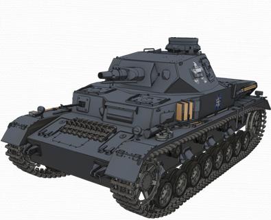 Ⅳ号戦車D型(あんこうチーム)