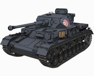 Ⅳ号戦車D型改(F2型仕様)(あんこうチーム)