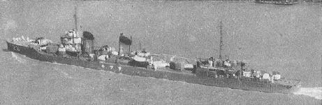 画像出典:https://ja.wikipedia.org/wiki/皐月_(睦月型駆逐艦)
