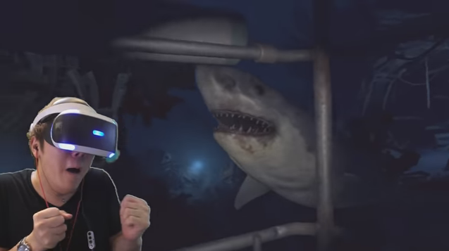 ゲーム プレステVR サメ