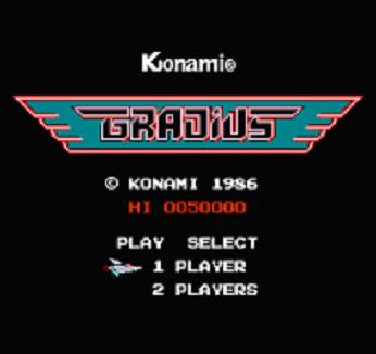 グラディウス ニンテンドークラシックミニファミリーコンピュータ レトロゲーム