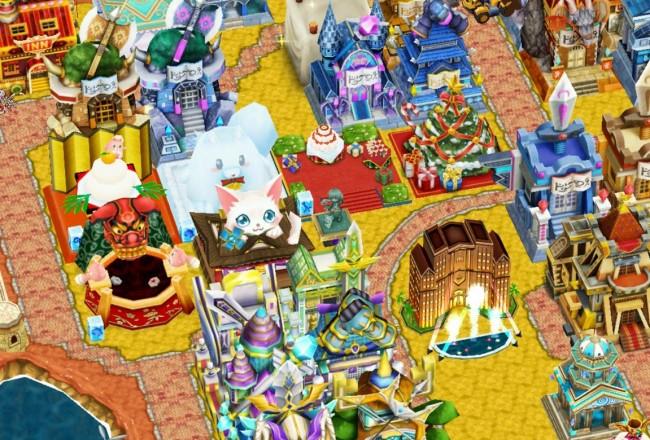 白猫 クリスマスタウン施設
