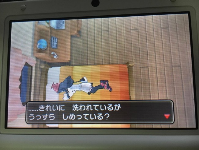 ゲーム ポケモン ベッド