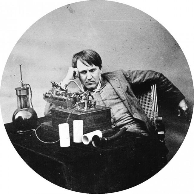 「蓄音機 エジソン」の画像検索結果