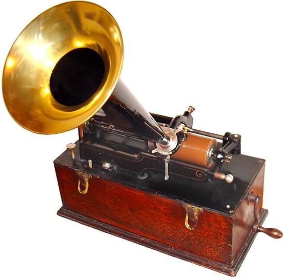 トーマス・エジソン サーヴァントDAYS 蓄音機