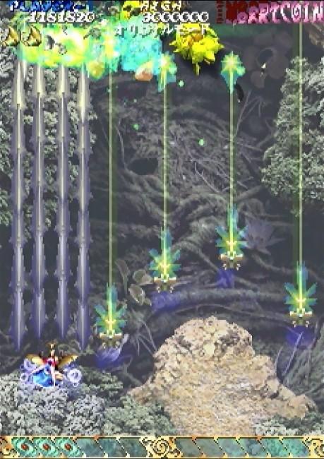 虫姫さま ケイブ 弾幕シューティング ゲーム年代史