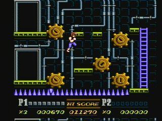 ニンテンドークラシックミニファミリーコンピュータ ダブルドラゴンⅡ ゲーム年代史
