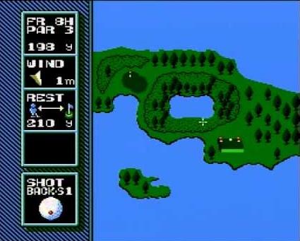 マリオオープンゴルフ  ニンテンドークラシックミニファミリーコンピュータ ゲーム年代史