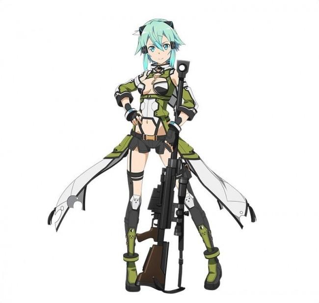 シノン 武器