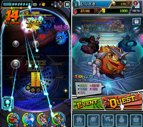 JUSTICE MONSTERS FIVE(ジャスモン) スマホゲーム