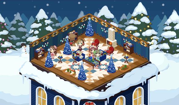 ルーム背景「クリスマステーマの背景②」