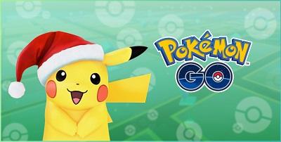 スマホゲーム ポケモンGO クリスマス