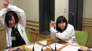 「Fate/stay night [UBW]」を見た髙橋さんがセイバーの様子をジェスチャー!