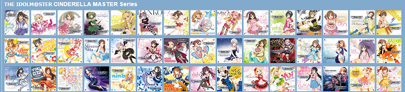 THE IDOLM@STER CINDERELLA MASTER Series